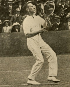 Rod Heath the first champion of the Australasian Championships