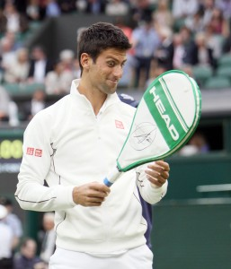4 time champion Novak Djokovic