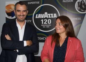 Marco and Francesca Lavazza